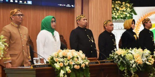 SIDANG PARIPURNA DPRD KABUPATEN BOGOR JADI PUNCAK PERINGATI HJB KE – 537